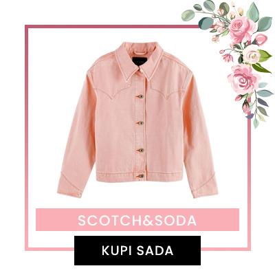 Scotch&Soda teksas jakna